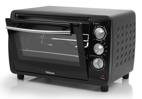 mini backofen mit drehspie 28 liter tristar ov 1418 miniofen 1500 watt ebay. Black Bedroom Furniture Sets. Home Design Ideas